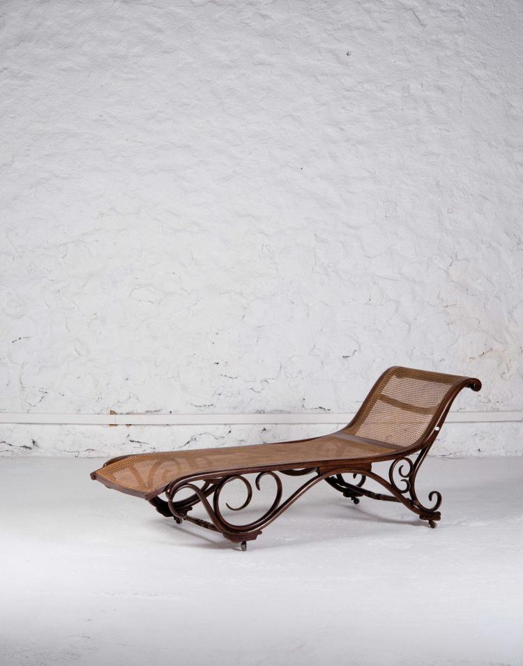 JACOB & JOSEF KOHN Chaise longue numero 1122