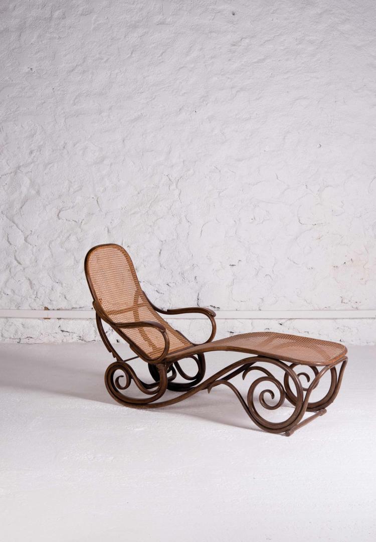 THONET Chaise longue