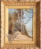Frédéric DUFAUX (1852-1943)Palmiers du Caire, 1889.Huile sur toile.Signée, située et datée en bas à gauche.41 x 33 cm.