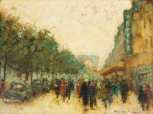 Maurice de Meyer (1911-1999)   Paris, les Champs Elysées
