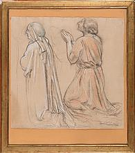 Maurice Denis (1870-1943)   Figures à genoux