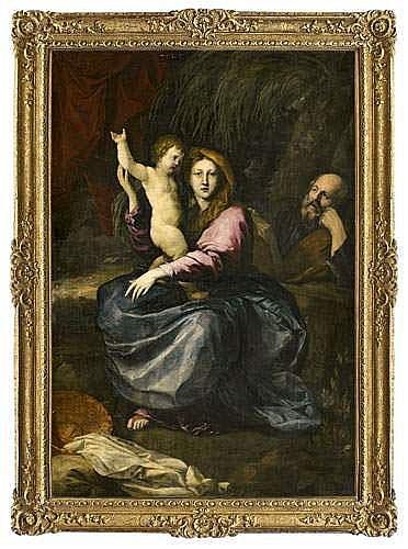 Pierre PUGET (Marseille 1620-1694). - La Sainte