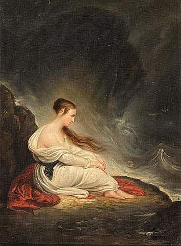 Ary SCHEFFER (1795-1858). - La Grèce sur les