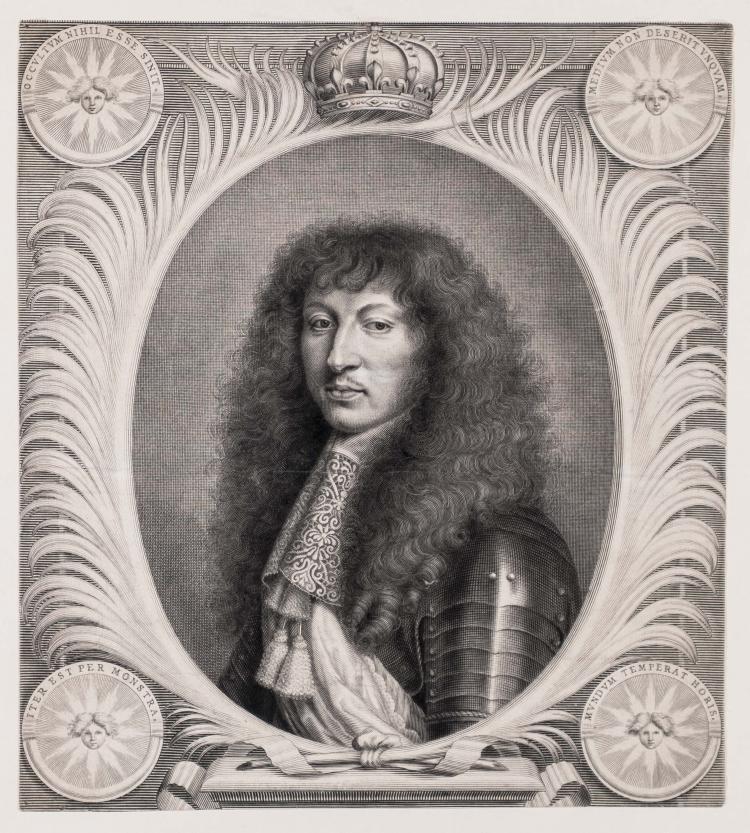 ANONYME. Louis XIV.