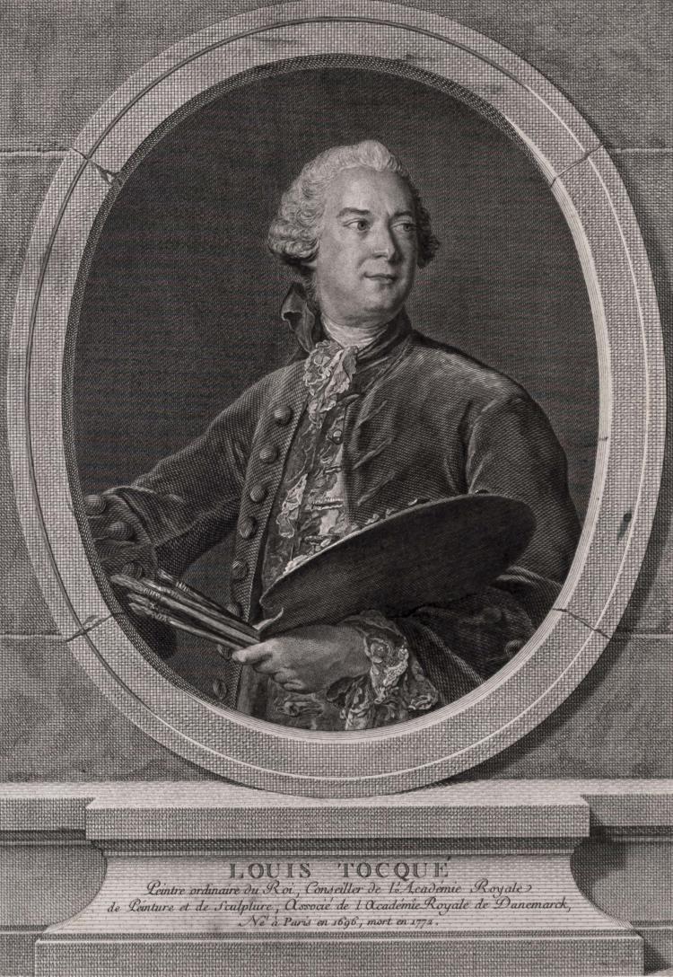 Louis-Jacques CATHELIN. Louis Tocque.