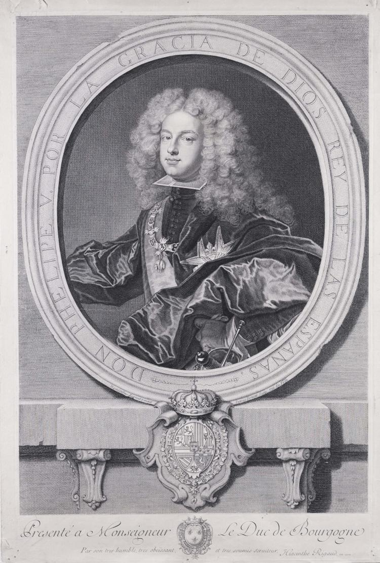 Pierre DREVET. Philippe V d' Espagne.
