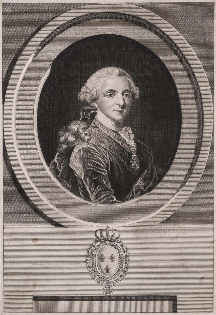 Charles Eugene DUPONCHEL. Louis XVI, roi de France et de Navarre.