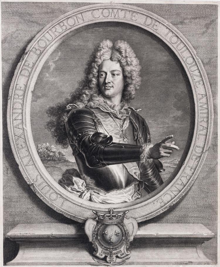 Pierre DREVET. Louis Alexandre de Bourbon, comte de Toulouse, amiral de France.