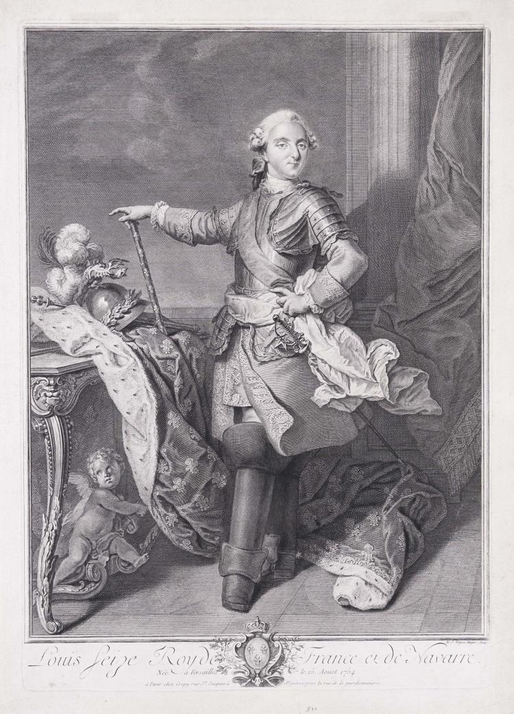 Nicolas Joseph VOYEZ l' Aine. Louis XVI, roi de France et de Navarre.