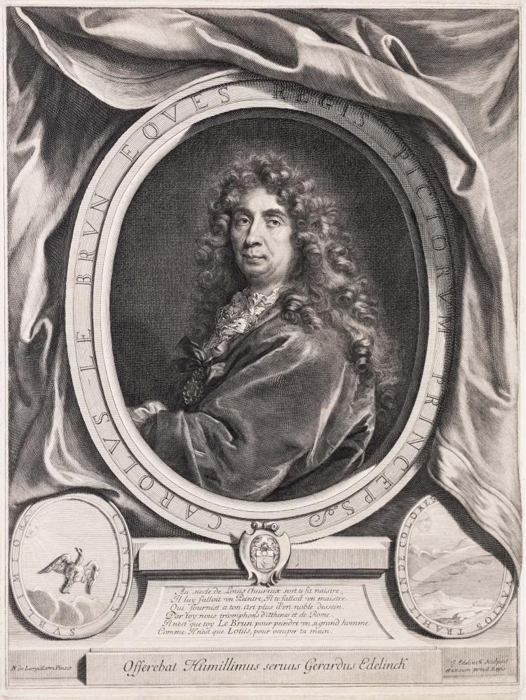 Gerard EDELINCK. Charles le Brun.