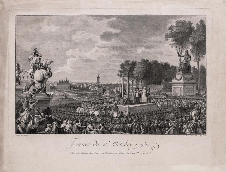 Isidore-Stanislas HELMAN. Journee du 21 janvier 1793 ; Journee du 16 octobre 1793.