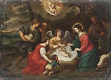 Pieter LISAERT I (1595-1629), attribué à L'Adoration des bergers.