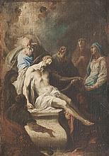 Frans Anton MAULBERTSCH (1724-1796), attribué à Déposition de Croix.