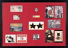 Artistes divers (de gauche à droite) :   BANKSY (1974)