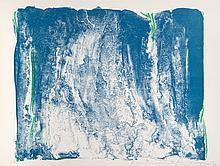 OLIVIER DEBRÉ (FRA/1920-1999)  Sans titre, 1983 Lithographie 56 x 76 cm Epreuve d'artiste datée et signée en bas à droite