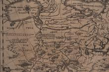 Carte de la Russie, Russia cum continus de Dirick