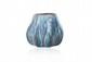 Alexandre BIGOT (1862-1927) Vase de forme pansue en grès dans les tons de gris bleu. Signé. H. : 9 cm.