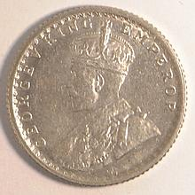 1 / 4 Rupee / British Colonies