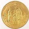 Medail bateme and coronation of Christ / Austria