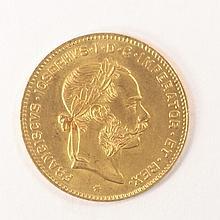 4 Florin 10 Francs / Austria