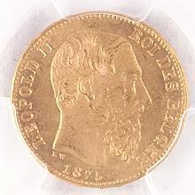 20 Francs / Belgium