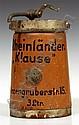 Senfspender 3 l. Hersteller Deutsche Siphonfabrik.