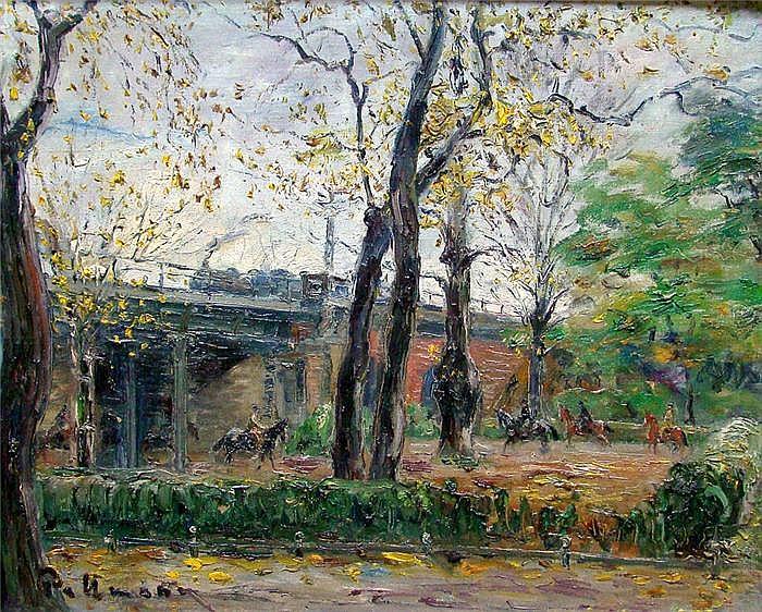 Pallmann, Kurt (1886 Berlin 1952) Eisenbahntunnel