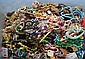 BIN OF COSTUME JEWELRY REPAIR LOT. All jewelry sold as is.