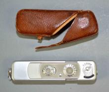 1958 MINOX & WETZLER SPY CAMERA WITH ORIGINAL CASE - Condition: Age appropriate wear; All items sold as is.