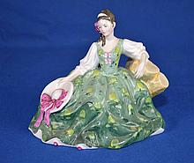 ROYAL DOULTON FIGURINE ''ELYSE''  Copyright 1971  Mark, HN2474  Size, 5 3/4''H. Condition, age appropriate wear. All items sold as is.