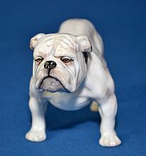 ROYAL DOULTON BULLDOG #1047 Size, 4 1/2''x3''. Condition, age appropriate wear. All items are sold as is.