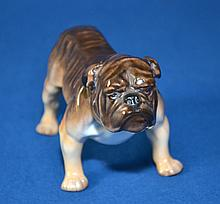 ROYAL DOULTON BULLDOG #1044. Size, 5''x3''. Condition, age appropriate wear. All items are sold as is.