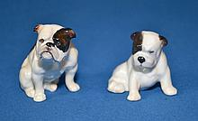 TWO(2)ROYAL DOULTON BULLDOGS  K1 and K2. Condition, age appropriate wear. All items are sold as is.