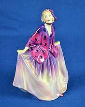 ROYAL DOULTON FIGURINE ''SWEET ANNE''  Mark, HN1496  Size, 7 1/2''H. Condition, age appropriate wear. All items are sold as is.