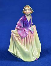 ROYAL DOULTON FIGURINE ''SWEET ANNE''  Mark, RN743560  Size, 3 3/4''H. Condition, age appropriate wear. All items are sold as is.