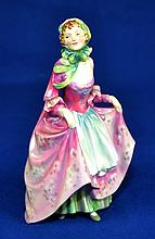 ROYAL DOULTON FIGURINE  ''SUZETTE''  Mark, HN2026  Size, 7 1/2''H. Condition, age appropriate wear. All items are sold as is.