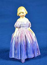 ROYAL DOULTON FIGURINE ''MARIE''  Mark, HN1370  Size, 4 1/2''H. Condition, age appropriate wear. All items sold as is.