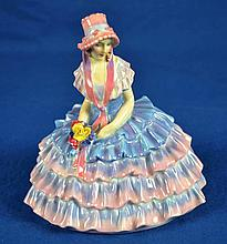 ROYAL DOULTON FIGURINE ''CHLOE''  Mark, RN764558  Size, 6''H. Condition, age appropriate wear. All items are sold as is.