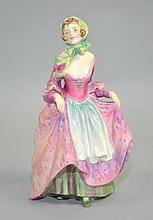 ROYAL DOULTON ''SUZETTE'' HN2026 - 7 1/2'' tall - Condition: Age appropriate wear, all items sold as is.