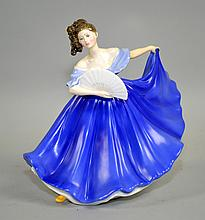 1979 ROYAL DOULTON  ''ELAINE'' HN2791 - signed; 7 1/2'' tall - Condition: Age appropriate wear, all items sold as is.