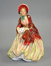 1945 ROYAL DOULTON ''HER LADYSHIP'' HN1977 - 7 1/2'' tall - Condition: Age appropriate wear, all items sold as is.