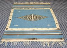NAVAHO RUG - 6'4'' X 4'4'' - Condition: Age appropriate wear; All items are sold as is.