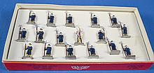 17 PC S.A.SCULPTURED MODELS No 2014 VATICAN PAPAL GUARDS MINIATURES - Condition: Age Appropriate Wear; All items sold as is.
