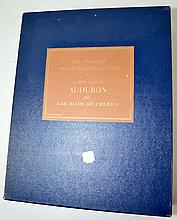 (2) TWO VOLUME SET THE ORIGINAL WATER DASH COLOR PAINTINGS BY JOHN JAMES AUDOBON FOR THE BIRDS OF AMERICA - Copyright 1966 American Heritage Publishing - Condition: Age appropriate wear; All items sold as is.