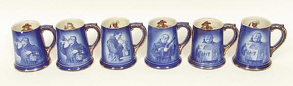BRUNT ART WARE MONK MUGS