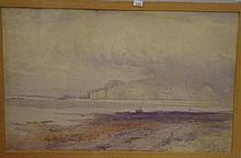 Henry Andrew Harper (1835-1900 UK) watercolour.