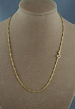 14ct yellow gold chain approx 3.1 grams, approx