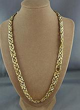 14ct yellow gold necklace in original Davi Connor