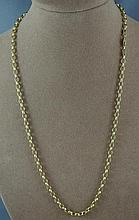 9ct yellow gold chain approx 9.7 grams