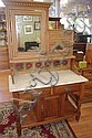 Antique pine wash stand